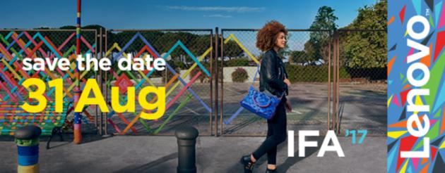 Lenovo fissa il suo evento per IFA 2017 al 31 Agosto