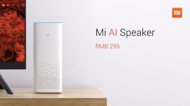 Xiaomi Mi AI Speaker presentato ufficialmente