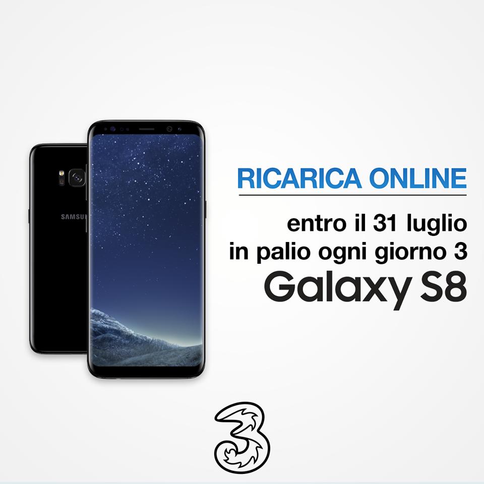 3 Italia ingolosisce i propri clienti grazie a Samsung Galaxy S8 (2)