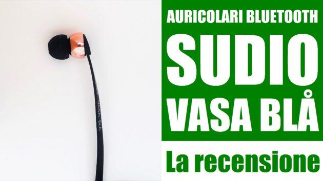 Auricolari Bluetooth Sudio Vasa BLÅ: la recensione