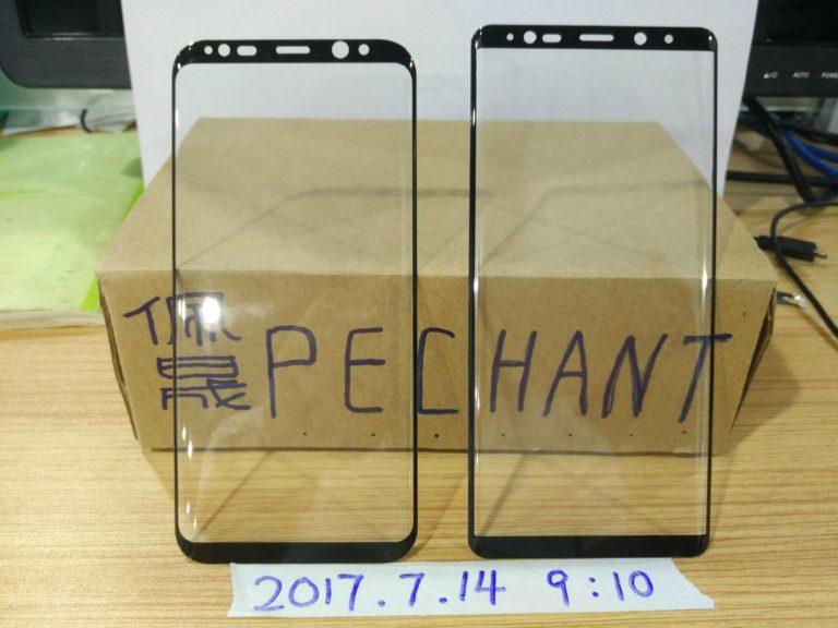 Note 8 come cambierà il pannello frontale rispetto a Galaxy S8 (2)