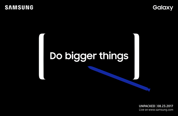 Note 8: online primo video teaser