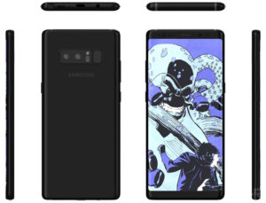 Samsung Galaxy Note 8 prosegue l'invasione dei render (4)