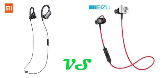 Xiaomi Mi Sports Vs Meizu EP-51: il confronto