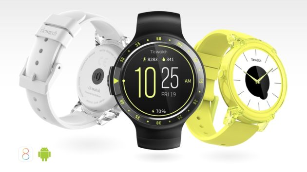 TicWatch S ed E, gli smartwatch ora disponibili in Italia
