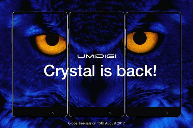 UMIDIGI Crystal: produzione quasi ultimata