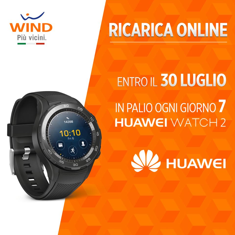 Wind risponde a 3 Italia proponendo Huawei Watch 2 (2)