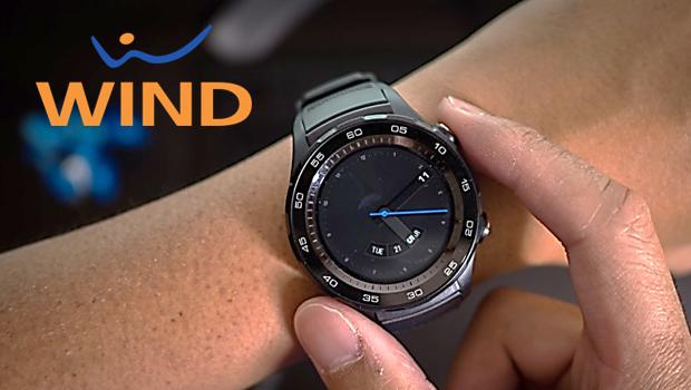 Wind risponde a 3 Italia proponendo Huawei Watch 2