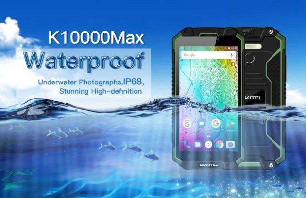 Oukitel K10000 Max avrà la certificazione IP68 oltre alla incredibile batteria da 10000 mAh