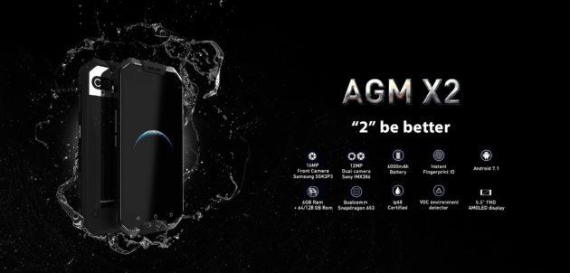 AGM X2: ancora pochi giorni di presale