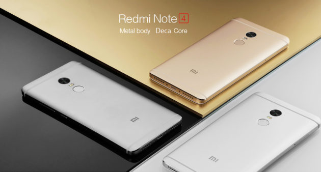 Redmi Note 4 e Redmi 4X in sconto su GearBest