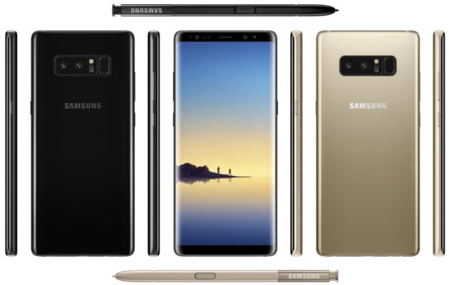 Galaxy Note 8: Evan Blass lo mostra in anteprima