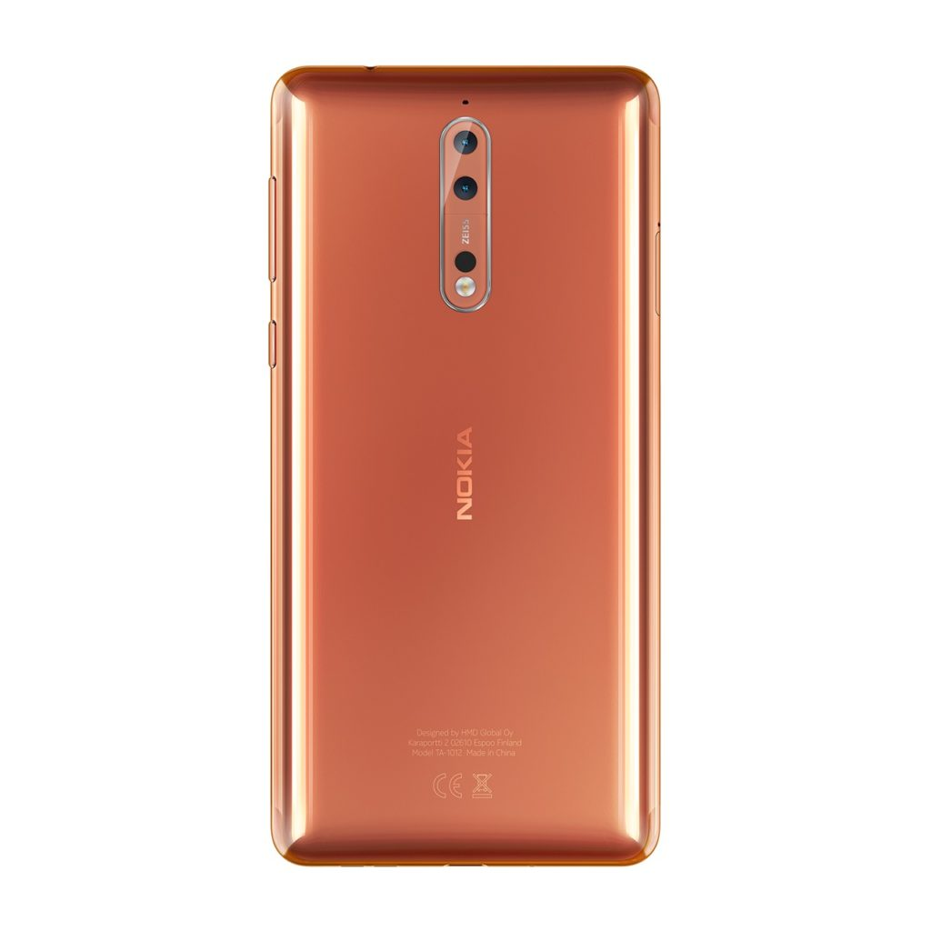 Nokia 8 è il nuovo top di gamma di HMD Global