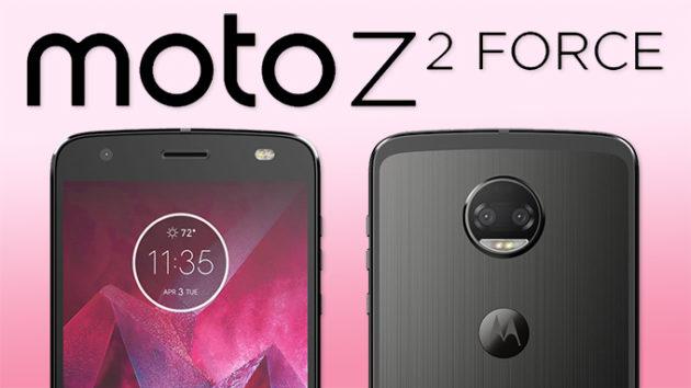 Moto Z2 Force arriva anche in Italia insieme alla 360 camera MOD | IFA 2017