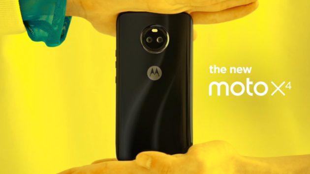 Moto X4 con Amazon Alexa e doppia fotocamera presentato ad IFA 2017