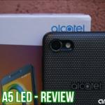 Alcatel A5 LED - Recensione