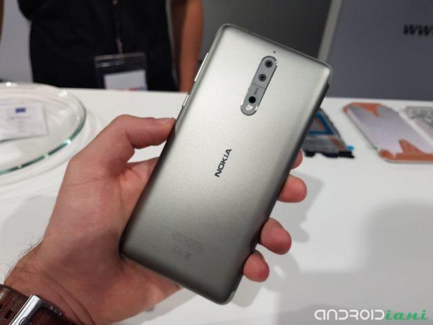 Nokia 8, terminato il beta testing di Android Oreo