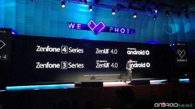 ASUS presenta a Roma la famiglia ZenFone 4