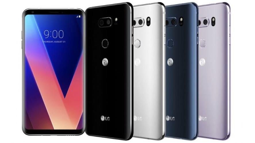 LG V30 disponibile anche in Italia al prezzo di 899,99 euro