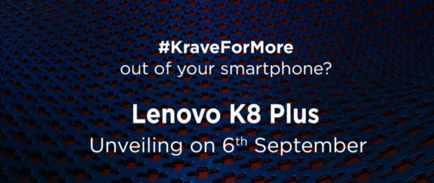 Lenovo K8 Plus: doppia fotocamera e Android stock