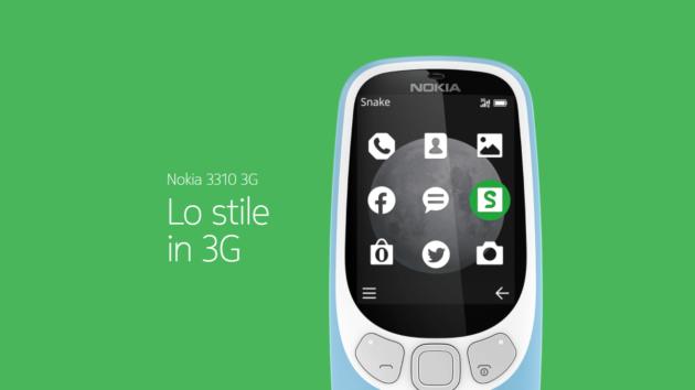 Nokia 3310 arriva in versione... udite, udite... 3G!