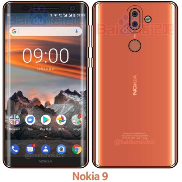 Nokia 9 l'ultimo render confermerebbe alcuni 'sospetti' (2)