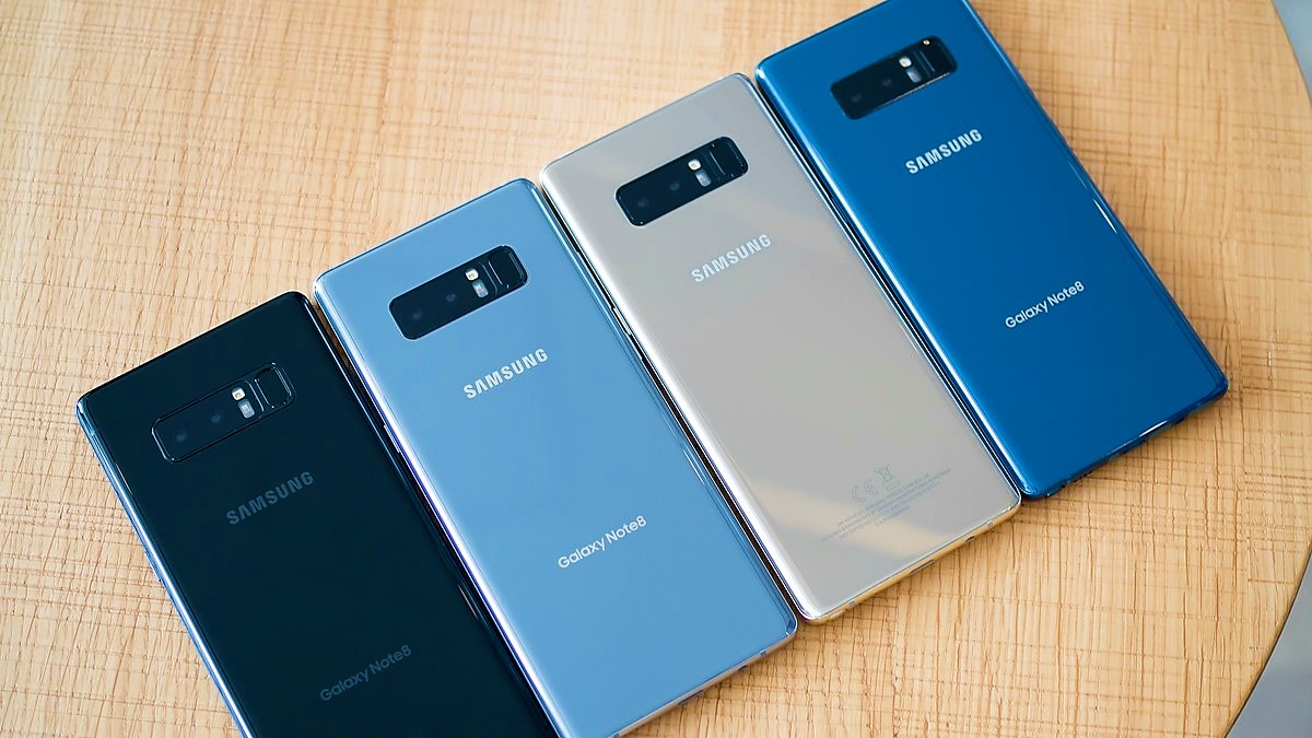 Samsung Galaxy Note 8 boom di vendite in Corea durante il primo weekend
