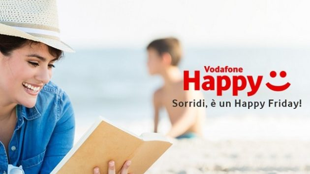 Vodafone Happy Friday: graditi premi per i clienti