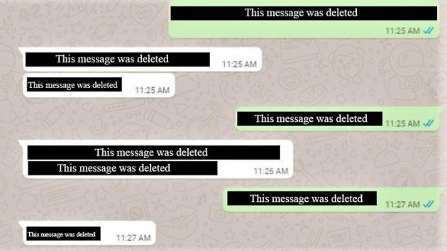 WhatsApp sta testando la cancellazione dei messaggi inviati