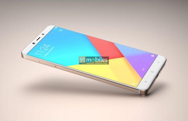 Xiaomi Redmi Note 5: mostrato in alcuni render?