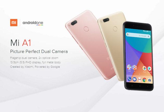 Xiaomi Mi A1: Partono i primi preordini