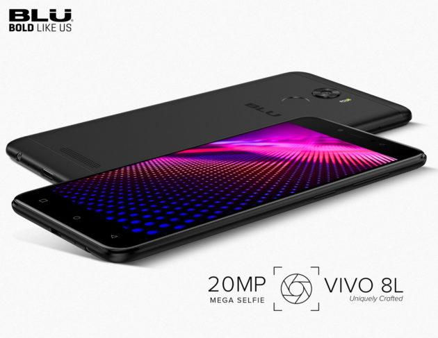 BLU VIVO 8L: ufficiale il selfie phone da 20 MPx