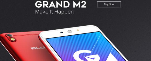 BLU Grand M2 annunciato con schermo 5.2'' e Android 7.0