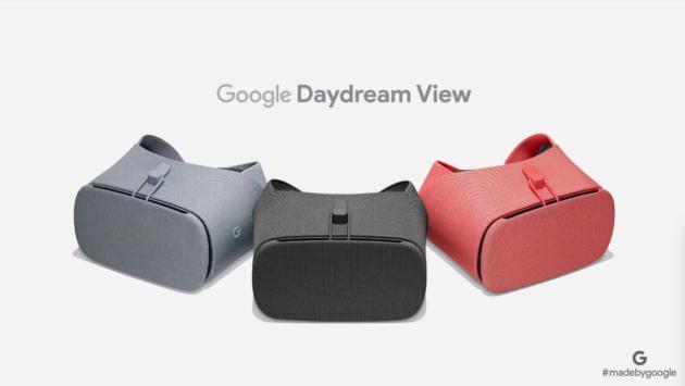 Google ufficializza Daydream View, Clips e Pixel Buds