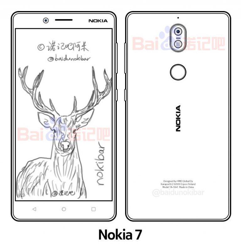 Nokia 7 una nuova immagine anticipa il probabile design dello smartphone (2)