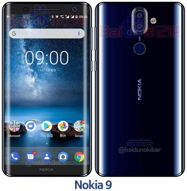 Nokia 9 ricompare in colorazione Polished Blue (2)