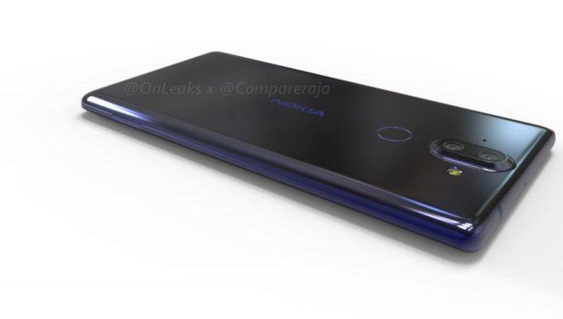OnLeaks mostra un render 3D di Nokia 9