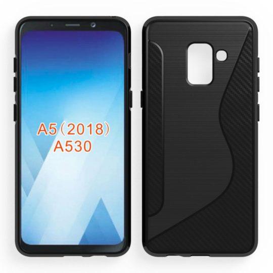 Samsung Galaxy A5 il render sviluppato per una cover insiste sull'infinity display