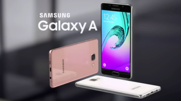 Galaxy A8 (2018): bezel less e dual selfie camera