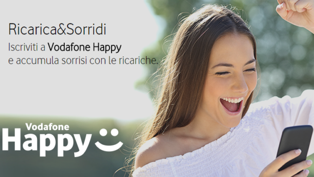 Vodafone Happy Friday: 30 Giga in regalo per un mese - 13/07/18