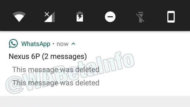 WhatsApp, il 'richiamo' dei messaggi inviati è in fase di rilascio