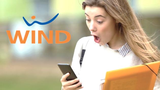 Wind Smart 7 Platinum, con 1000 minuti e 30GB, a 7€ ogni 4 settimane
