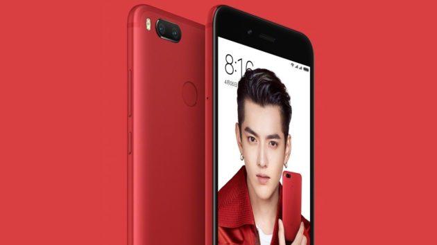 Xiaomi Mi 5X si tinge di rosso in questa Special Edition