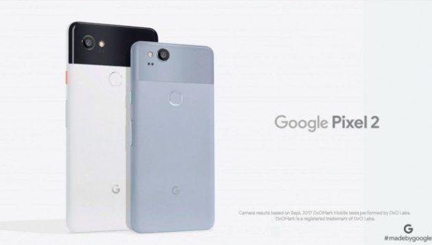 Google Pixel 2 e 2 XL presentati ufficialmente