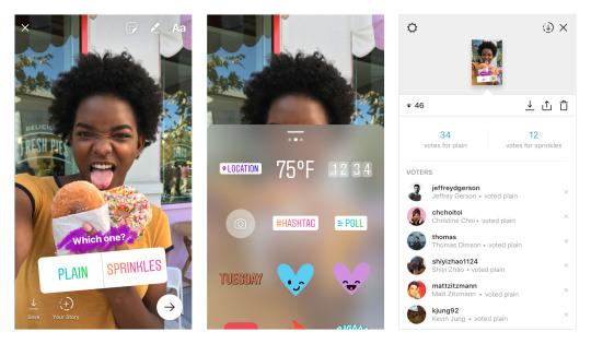 Instagram Stories ecco i sondaggi