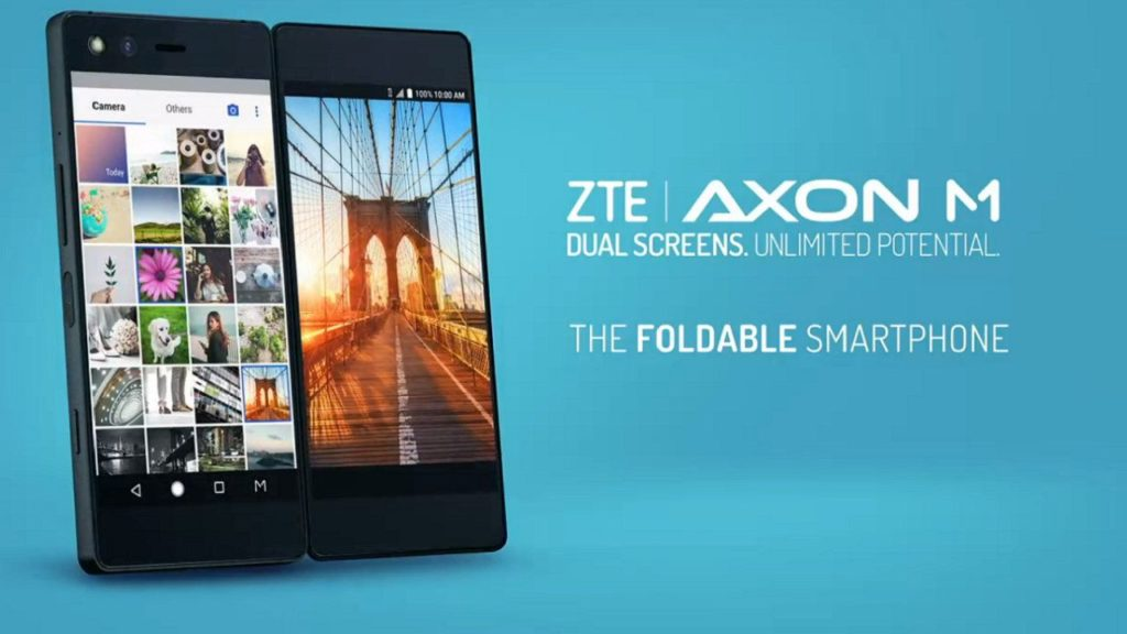 ZTE: altri smartphone pieghevoli in arrivo