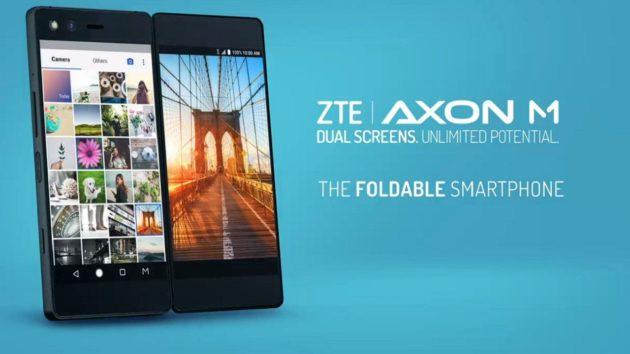 Presentato ZTE Axon M: è pieghevole con dual display