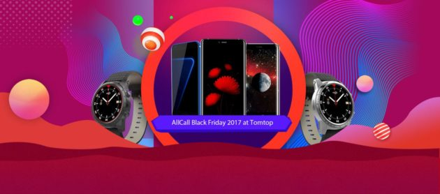 Black Friday: prodotti AllCall in saldo su Tomtop