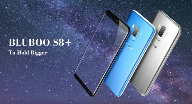 BLUBOO S8 Plus sarà lanciato il prossimo 11 Novembre con i suoi 4 GB di RAM