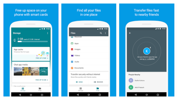 Google Files Go, disponibile al download su Play Store